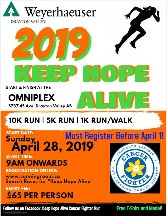 Keep Hope Alive Charity Run