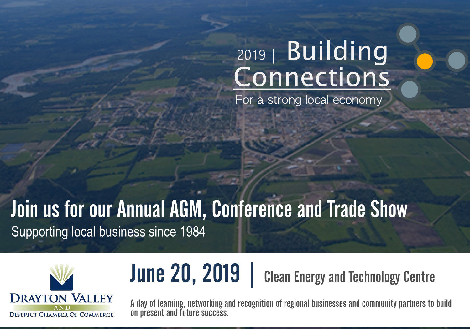 Drayton Valley and District Chamber of Commerce AGM, trade show, conference  and awards banquet - Drayton Valley